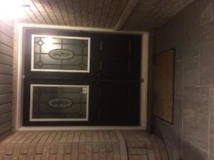 Front door X2 (double door entry
