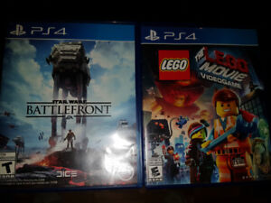 1 jeu de Play Station 4. Star Wars Battle front 10$
