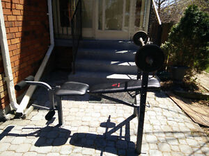 IMPEX Marcy weight bench