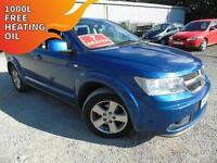 2010 Dodge Journey 2.0CRD Automatic SXT - Blue - 7 Seater - Platinum Warranty!
