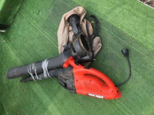 Black & Decker Leaf Blower