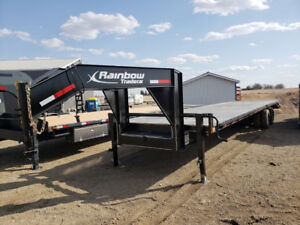 NEW 2018 30'+5' Rainbow Gooseneck *Old Pricing*  24,000 lb GVWR