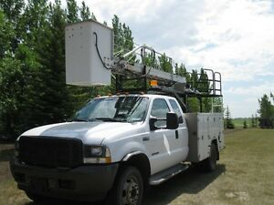 Bucket Truck Services, will do yard-light bulb replacement etc. Regina Regina Area image 1