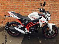 NEW Sinnis RSX 125 EFI learner legal own this bike for only £12.69 a week
