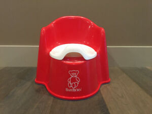 BabyBjorn Potty Chair - Red