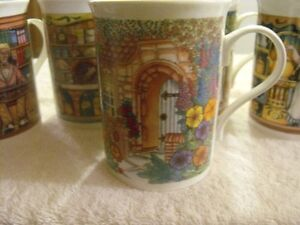 SET OF 5 SADLER WILLINGTON COFFEE MUGS Sarnia Sarnia Area image 6