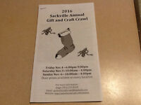 2016 Sackville Annual Gift and Craft Crawl