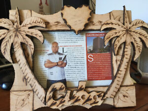 Hand crafted wooden picture frame