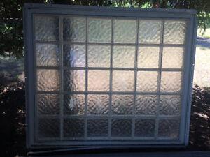 "6•5 8"" block PVC window"