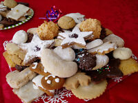 German Christmas Baking fresh every Saturday! 9-1pm