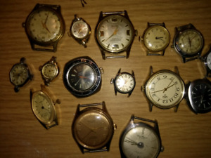 Vintage watches for sale
