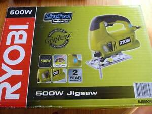 Ryobi Jigsaw 600W in box with extra blades Armidale Armidale City Preview