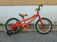 vélo pour enfant roue 16 pouces opus 66 new neuf aluminium