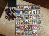 PlayStation PS3 bundle including over 30 games