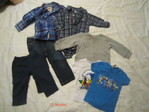 Boy's Clothing - 12 Months