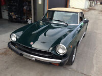 Great Fiat Spider sports car for spring