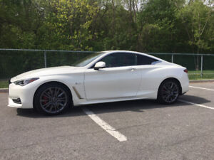 INFINITY Q 60 S RED SPORT 2017 FULL TECH OPTIONS