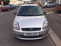 2008 Ford Fiesta Manual Petrol 1.25 Style Climate 3dr Hatchback Silver Hpi Clear