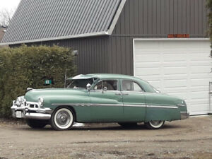 1951 Monarch, sports sedan. Classic Car. The original Lead Sled.