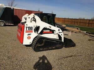 Bobcat T190 New Tracks 1895 hrs