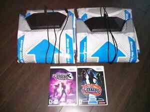 Game Cube/Wii Dance Pads with games!