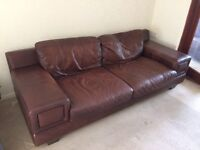 MFI 3+2 seater sofas
