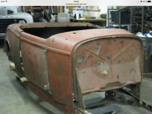 I am looking for a ford 1932 raodster body