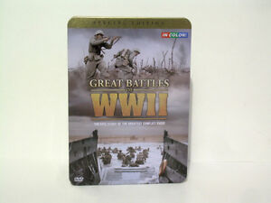 Great Battles of WWII Special Edition 3 Disc Set Collector's Tin