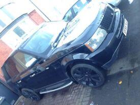 "Range Rover Sport 2.7 Diesel, MOT 22"" Alloys PS2 Sidesteps- Porsche, BMW X5, Audi, Touareg, Mercedes"