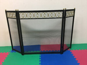 Fireplace screens/decorative and functional