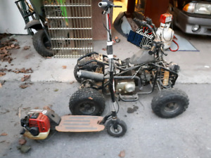 Scooter and quad