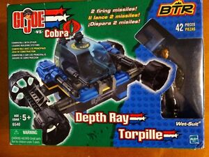 "BTR: GI Joe vs Cobra "" Depth Ray with Wet-Suit"" 42 pieces"