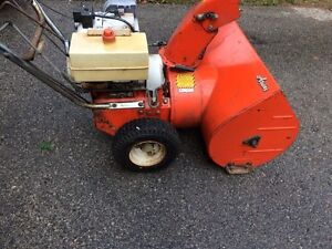 Ariens 8 hp 24 inch Snowblower Can Deliver