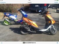 2 beaux scooter a vendre