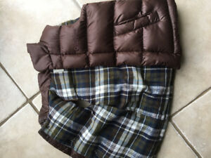 Boys Fall Vest - Osh Gosh size 4