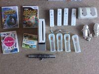 Nintendo Wii console plus extras