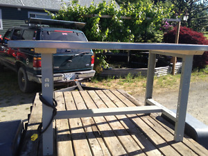 Stainless Steel Top Workbench Heavy Duty