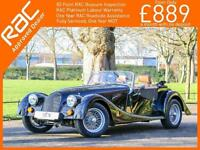 2017 Morgan Plus Four 2.0 GDI 154 BHP 2 Door Roadster 5 Speed Soft Top Full Leat