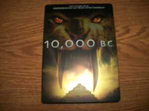 10,000 BC Steel Book
