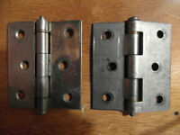 Two IDEAL 3 IN Hinges