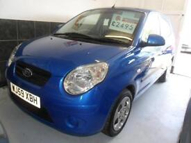 KIA PICANTO 1.1 2010 ONLY 72,000 MILES COMPLETE WITH M.O.T HPI CLEAR & WARRANTY
