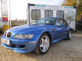 BMW Z3 3.2 M COUPE*ESTRILL BLUE*BLACK/GREY LEATHER