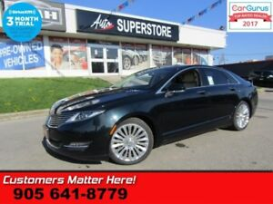 2014 Lincoln MKZ Base  (NEW TIRES) ADAP-CC CW NAV PANO-ROOF CS M