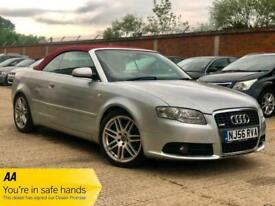 image for 2006 Audi A4 T FSI S LINE Auto CONVERTIBLE Petrol Automatic