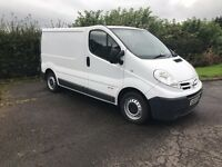 2009 Nissan primaster 115 se low milage vivaro, traffic