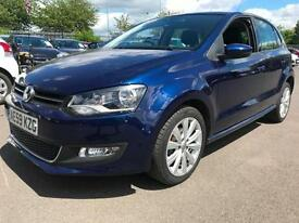 2010 VOLKSWAGEN POLO 1.6 TDI 90 SEL 5dr Low miles