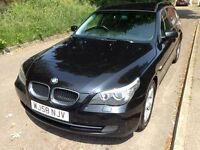 BMW 5 Series 2L Diesel Automatic Service History and 11 months MOT