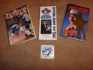 Blue Jay books and card sets from the 1990's.