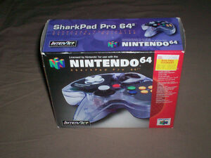 BOXED NINTENDO 64 SHARKPAD PRO CONTROLLER TESTED GREAT SHAPE West Island Greater Montréal image 2