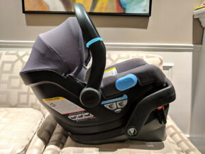 UPPAbaby MESA Infant Car Seat, Charcoal Melange Wool, Jordan